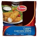 Tyson® Crispy Chicken Strips - 3 lb. bag