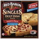 :: Freezer :: Pizza :: Red Baron® Deep Dish Singles Pizza Variety - 12 pk. Red Baron® Deep Dish Singles Pizza Variety - 12 pk.