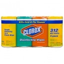 Clorox Disinfecting Wipes Variety Pack - 4 X 78 ct. Canister