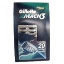Gillette® MACH3® - 20 cartridges