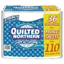 Quilted Northern Soft & Strong Toilet Paper, 36 Jumbo Rolls