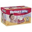 Huggies - Supreme Baby Wipes, 672 ct.