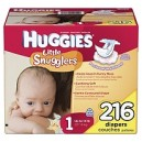 Huggies - Supreme Little Snugglers, Size 1 (Up to 14 lbs.), 216 ct