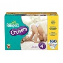 Pampers - Cruisers, Size 4 (22-37 lbs.), 160 ct.