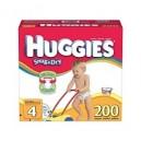 Huggies - Snug 'n Dry Diapers, Step 4 (22-37 lbs), 200 ct.
