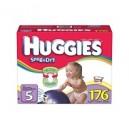Huggies - Snug 'n Dry Diapers, Size 5 (27+ lbs.), 176 ct.