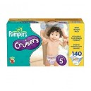 Pampers - Cruisers, Size 5 (27+ lbs.), 140 ct.