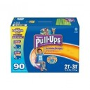 Huggies - Pull-Ups Training Pants for Boys, Size 2T-3T (18-34 lbs.), 90 ct.