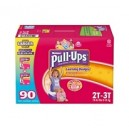 Huggies - Size 2T-3T Pull-Ups Training Pants for Girls (18-34 lbs.), 90 ct.