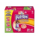 Huggies - Size 3T-4T Pull-Ups Training Pants Girls, (32-40 lbs.), 82 ct.