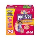 Huggies -  Size 4T-5T Pull-Ups Training Ps Girls (38+ lbs.), 70 ct.ant